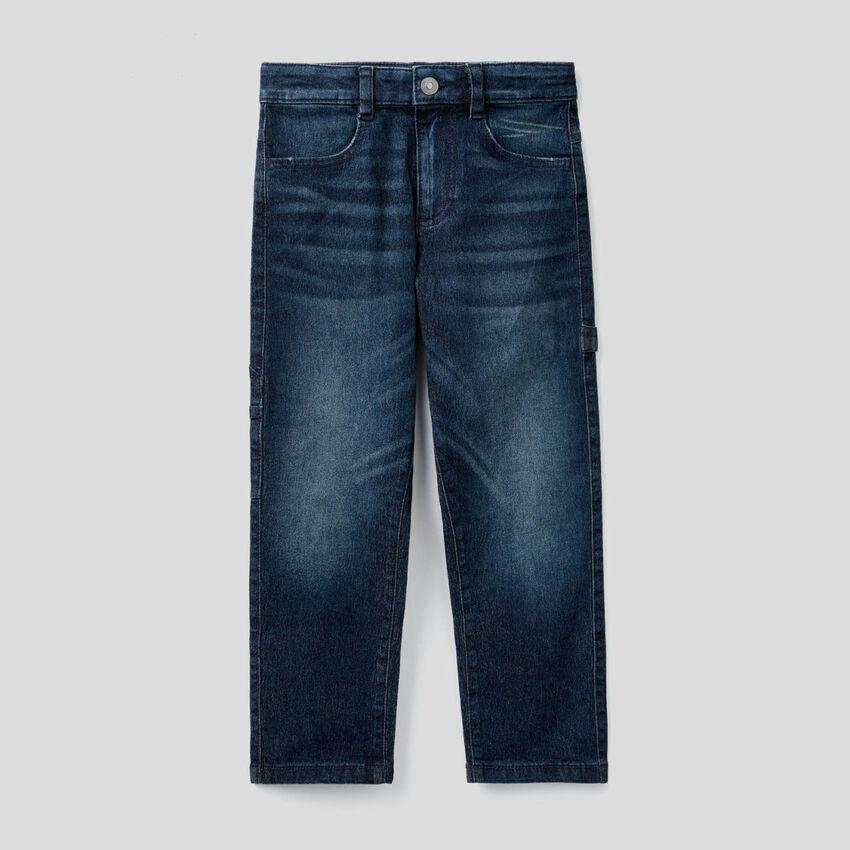 Jeans avec détails style workwear