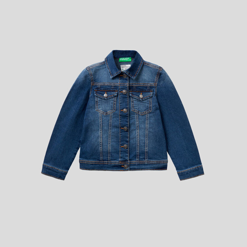 "Blouson en denim ""Eco-Recycle"""