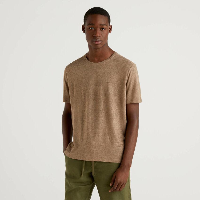 T-shirt en pur lin
