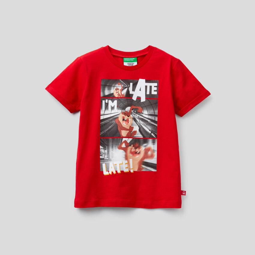 T-shirt Le Diable de Tasmanie en coton bio