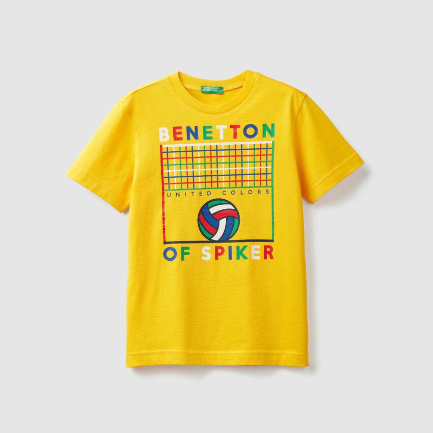 T-shirt avec imprimé sport