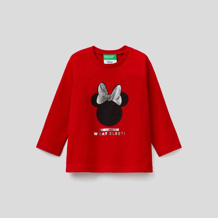 T-shirt Minnie à manches longues