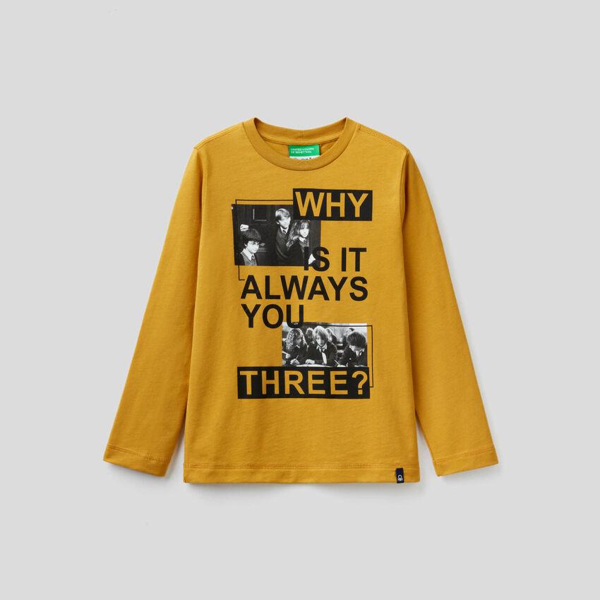 T-shirt à motif Harry Potter