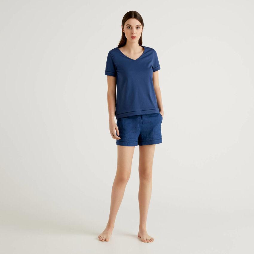 Ensemble pyjama avec t-shirt et short