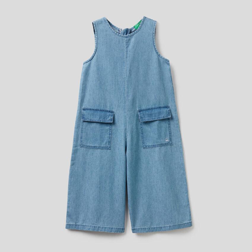 Combi-pantalon en 100% coton
