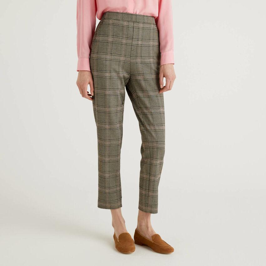 Pantalon motifs Prince de Galles