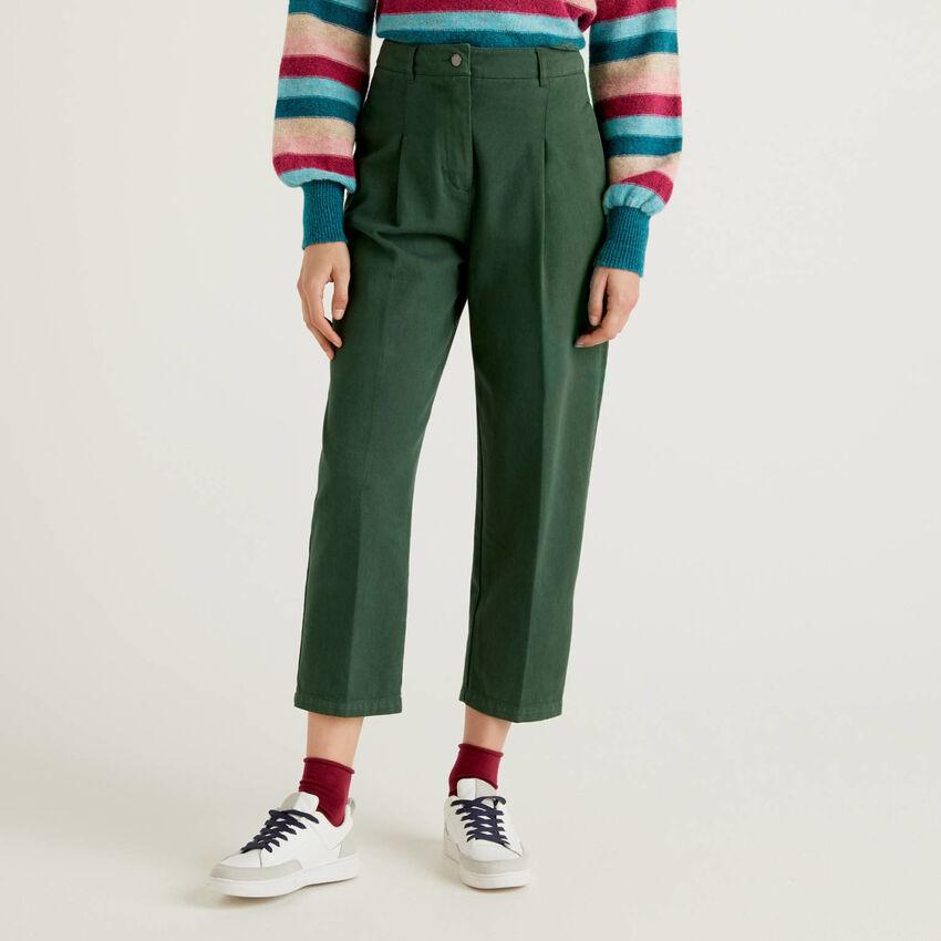 Pantalon slouchy en 100% coton