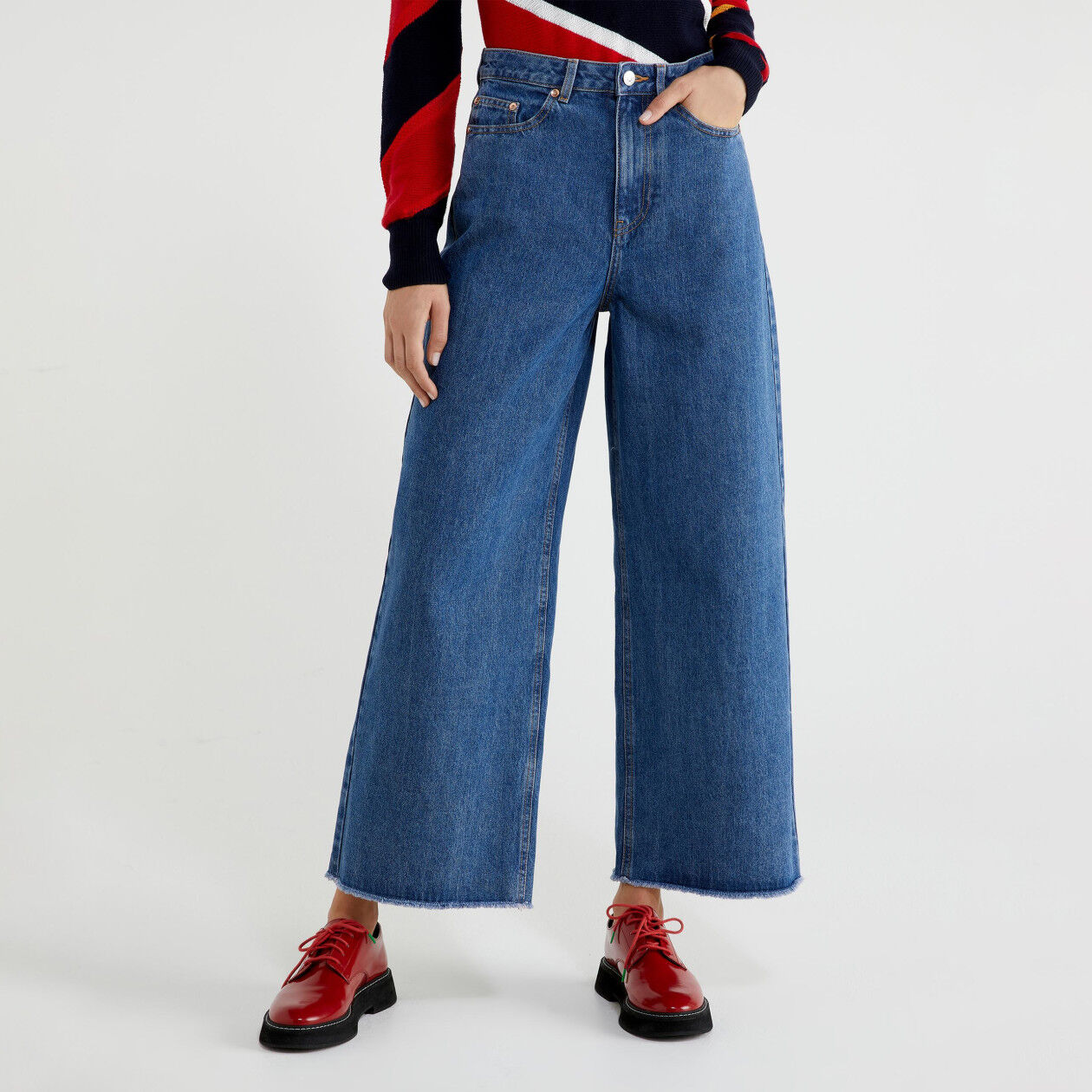 Jeans coupe mum
