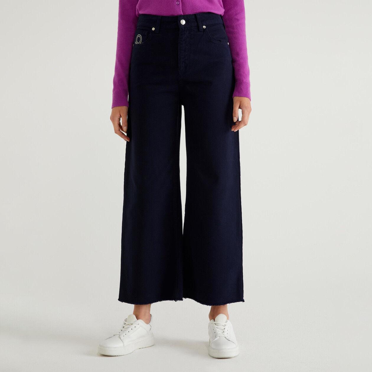 Pantalon cropped effilé