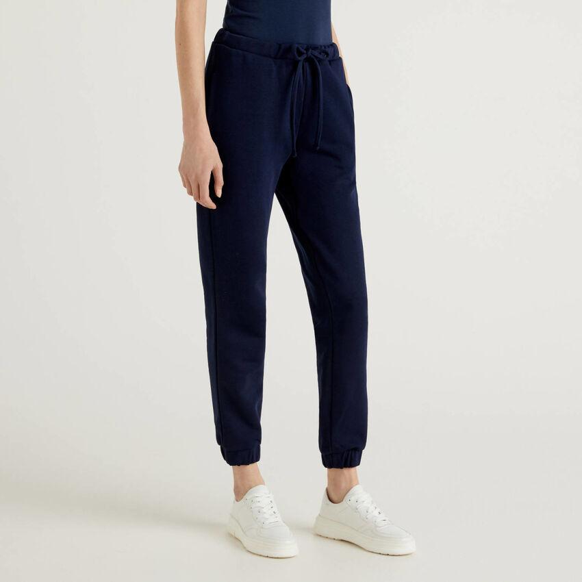 Pantalon de jogging bleu foncé