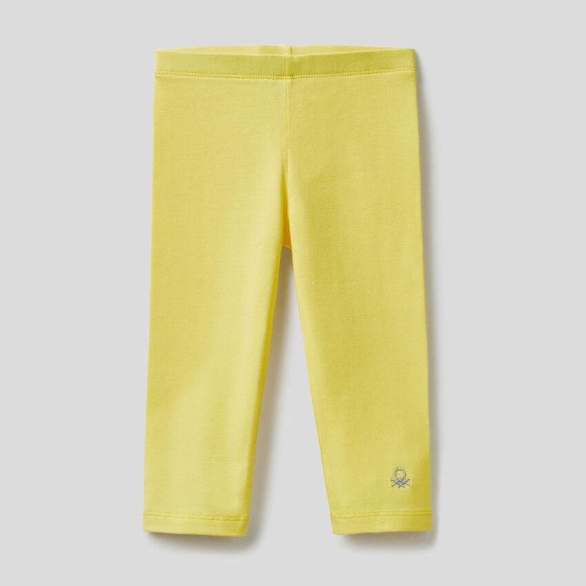 Legging en coton extensible