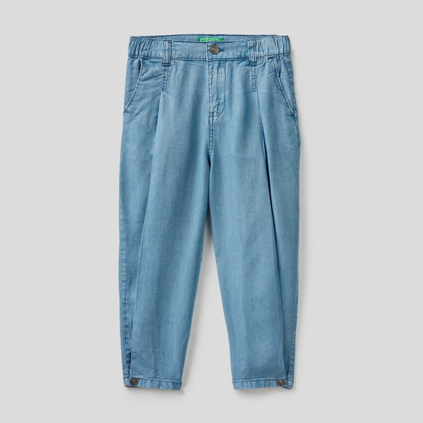 Pantalon avec coupe carrot