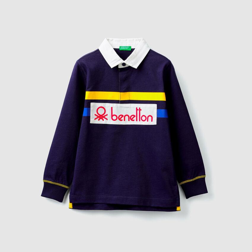 Polo en jersey avec logo