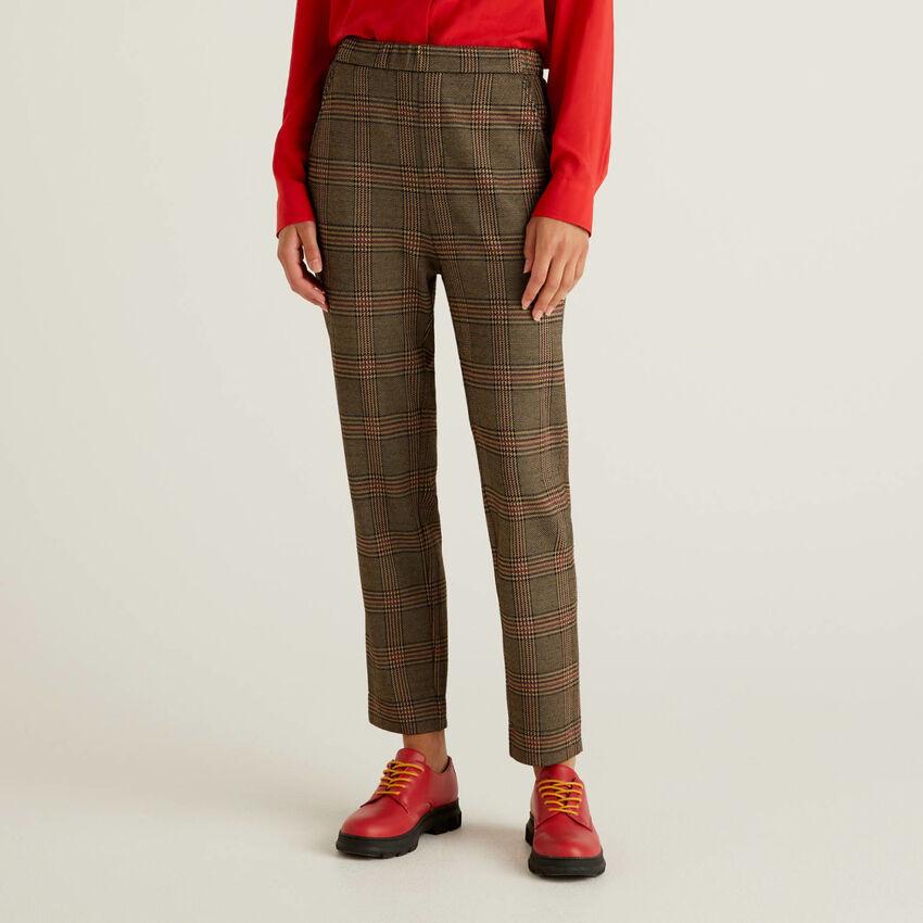 Pantalon fantaisie avec élastique à la taille