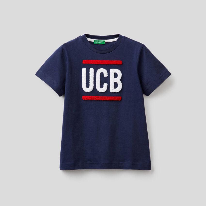 T-shirt 100% coton avec logo