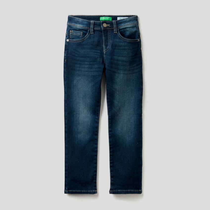 Jeans thermique coupe slim