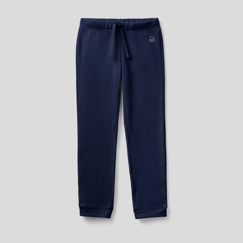 Pantalon en molleton avec logo