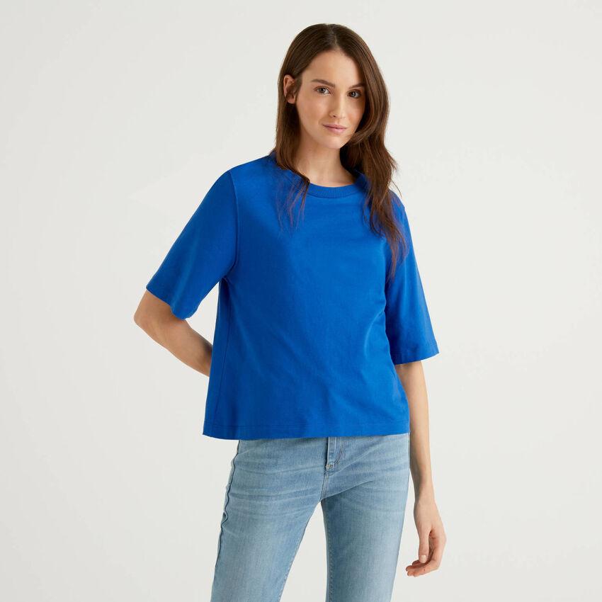 T-shirt coupe boxy 100% coton