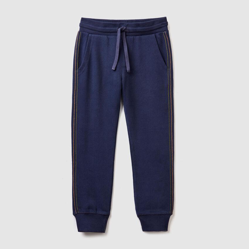 Pantalon avec poche imprimée