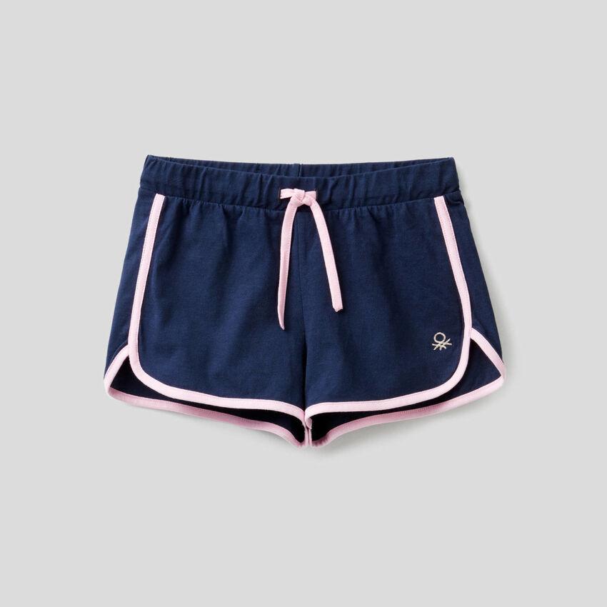 Short style runner en 100% coton