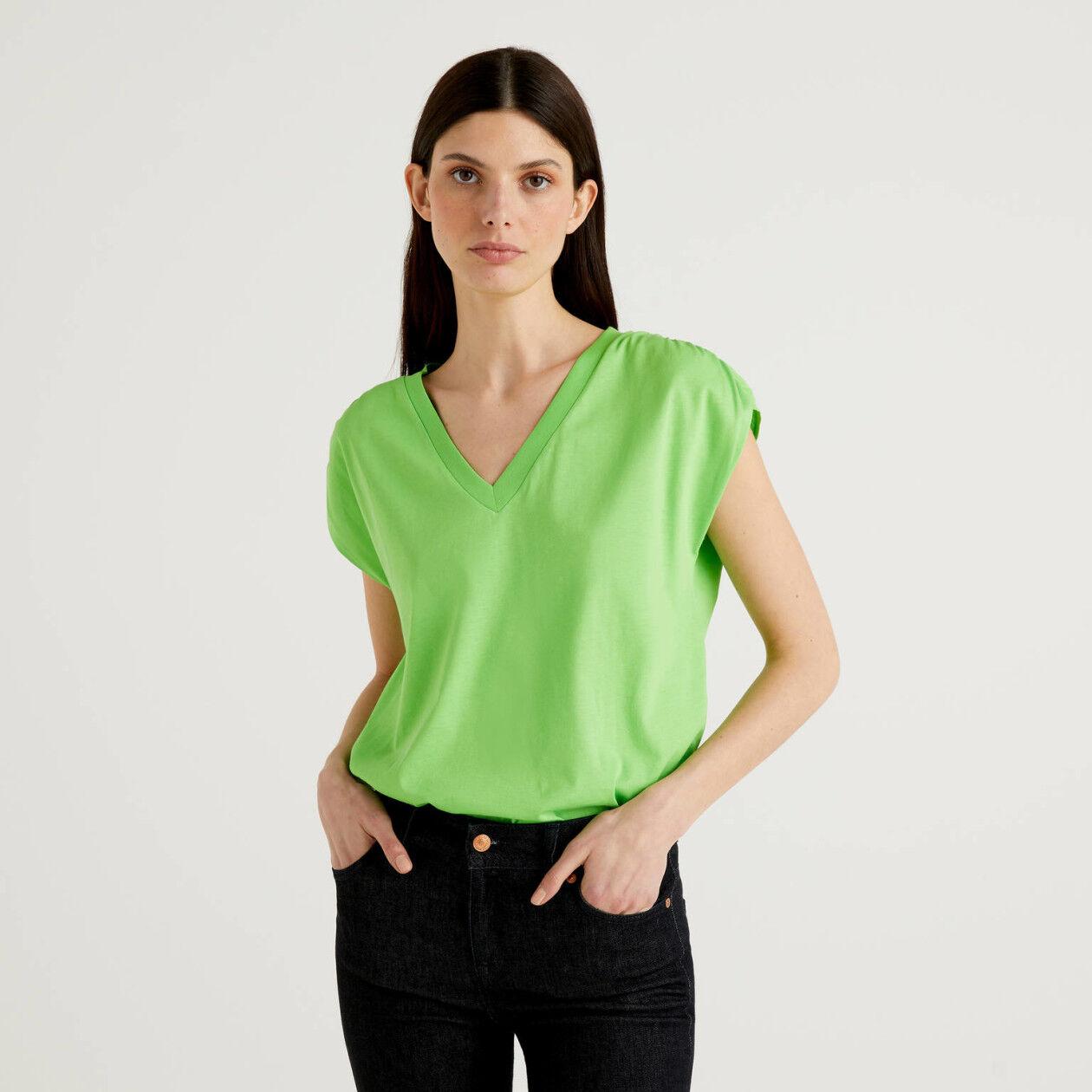 T-shirt à manches courtes en 100% coton