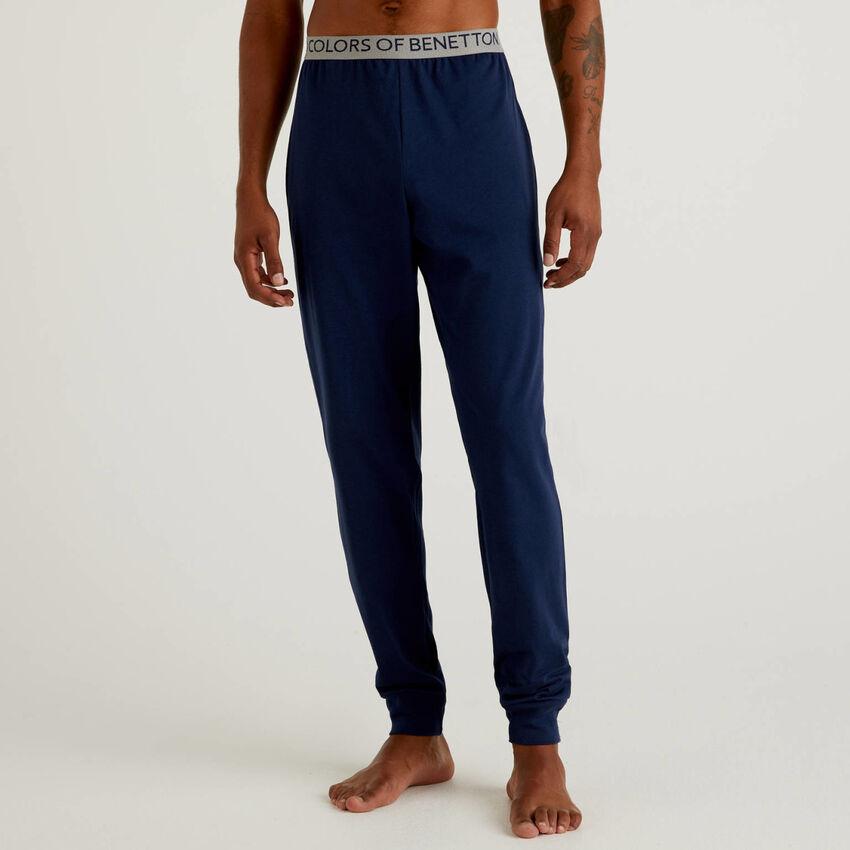 Pantalon en coton bio