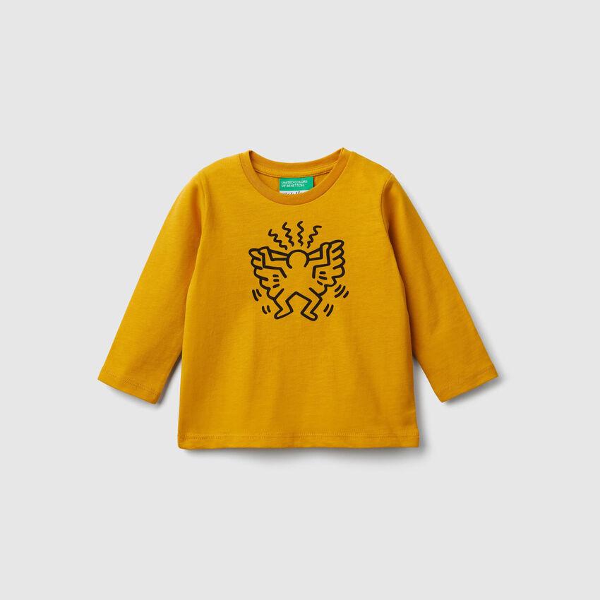 "T-shirt avec imprimés ""Keith Haring"""