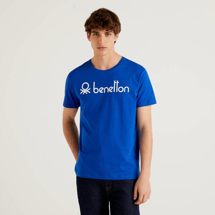 T-shirt manches courtes avec logo imprimé