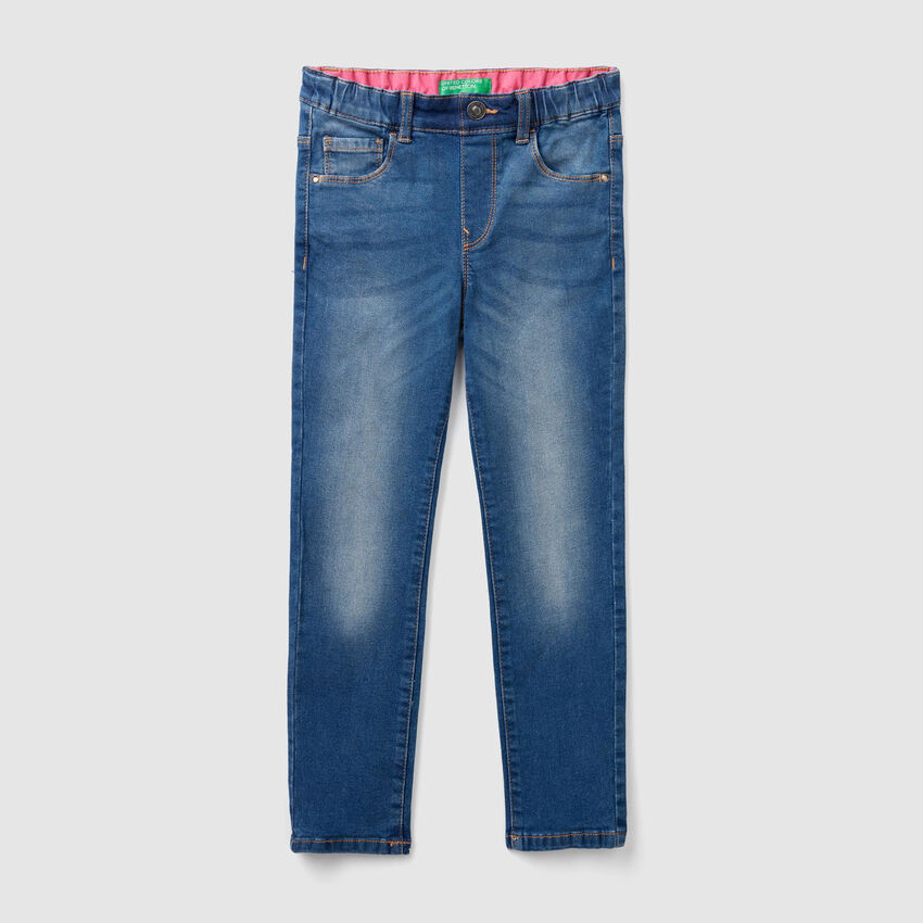 Jeans skinny à taille haute