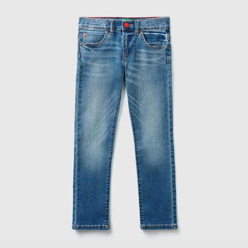 Pantalon en denim coupe slim