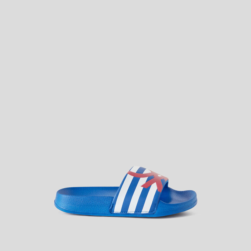 Sandales imprimées