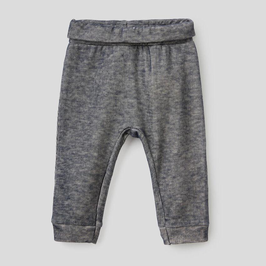 Pantalon longueur classique en molleton