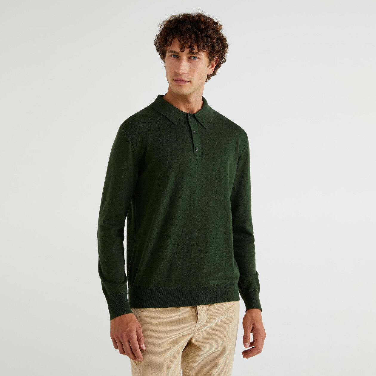 Pull style polo