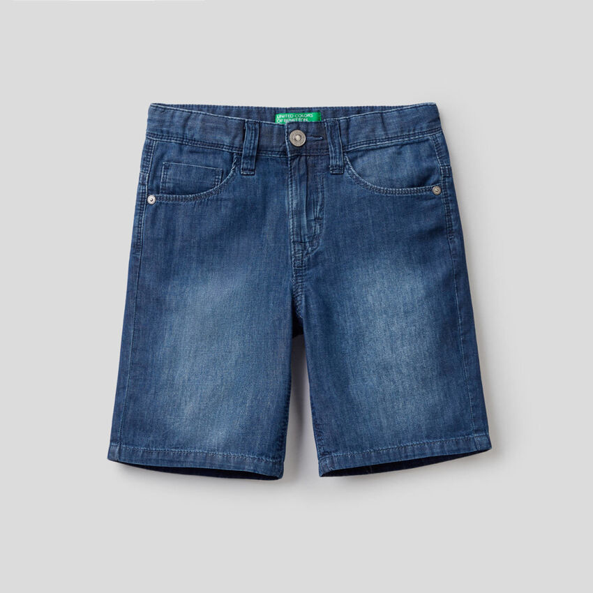 Bermuda en jeans léger