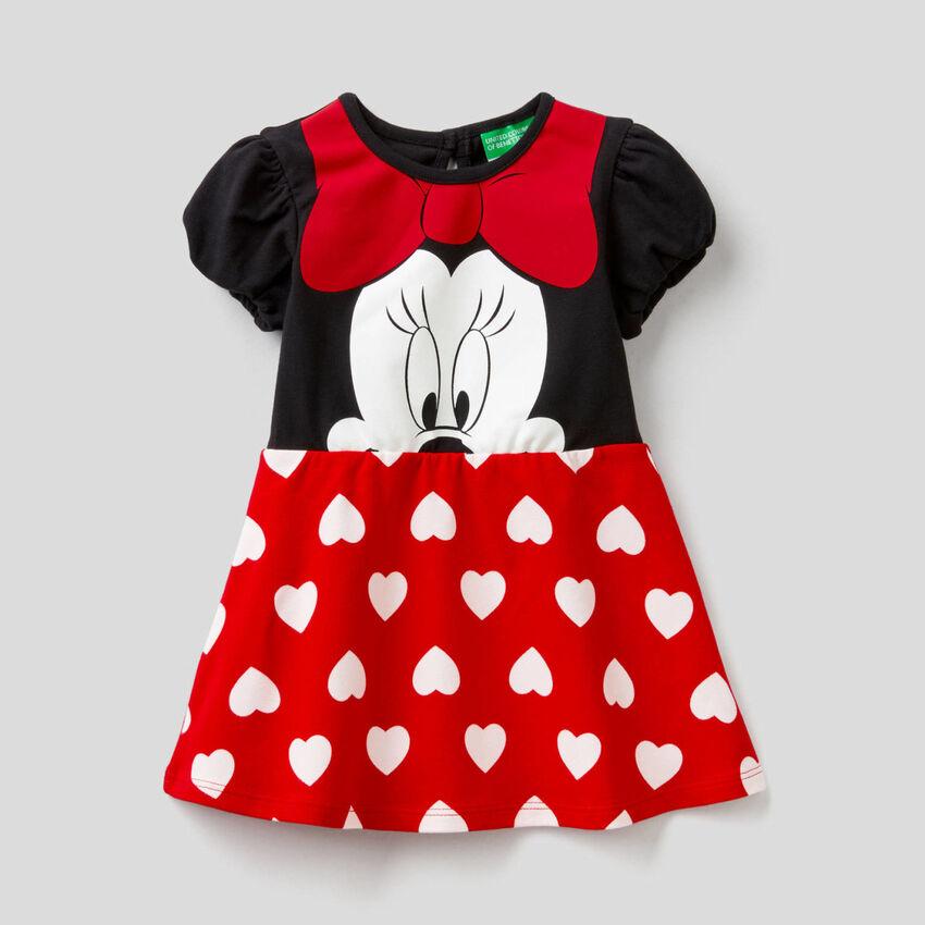 Petite robe Minnie en coton stretch