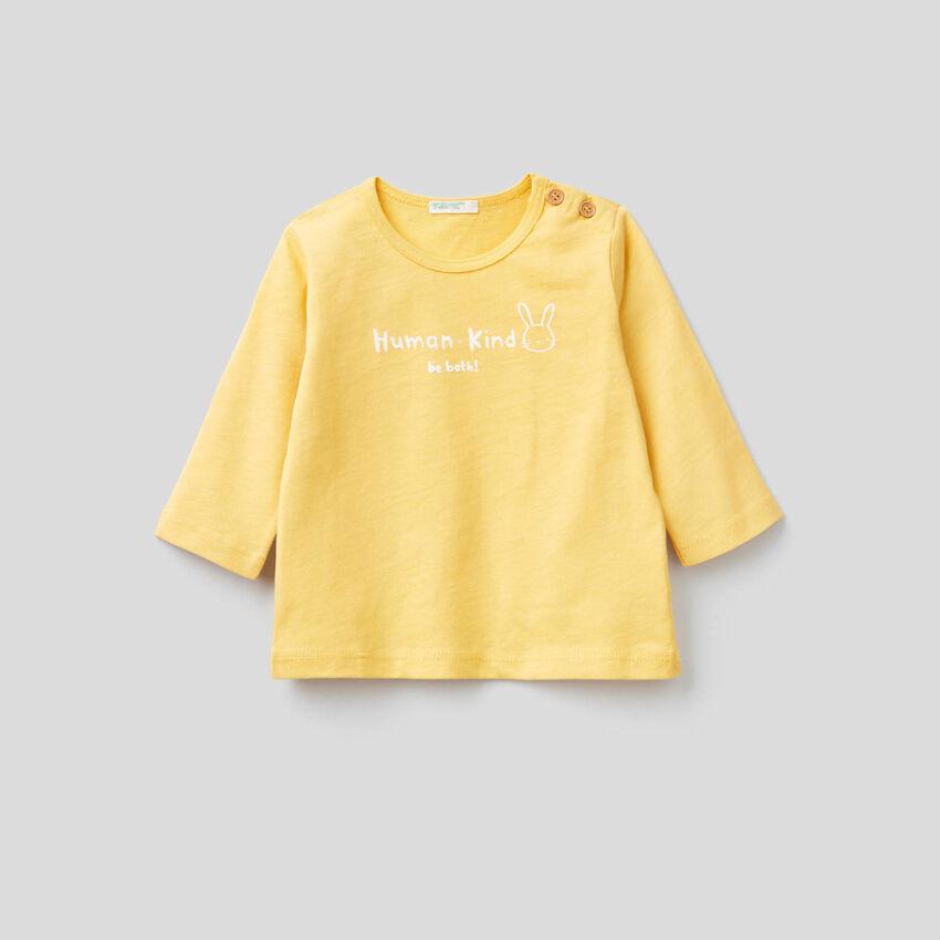 T-shirt en 100% coton bio