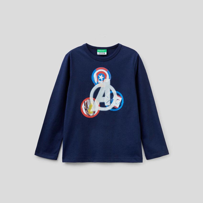 T-shirt Marvel en 100% coton