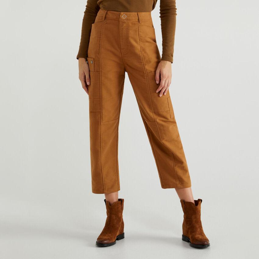 Pantalon en futaine