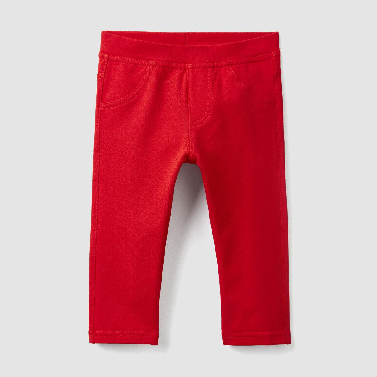 Pantalon en molleton stretch