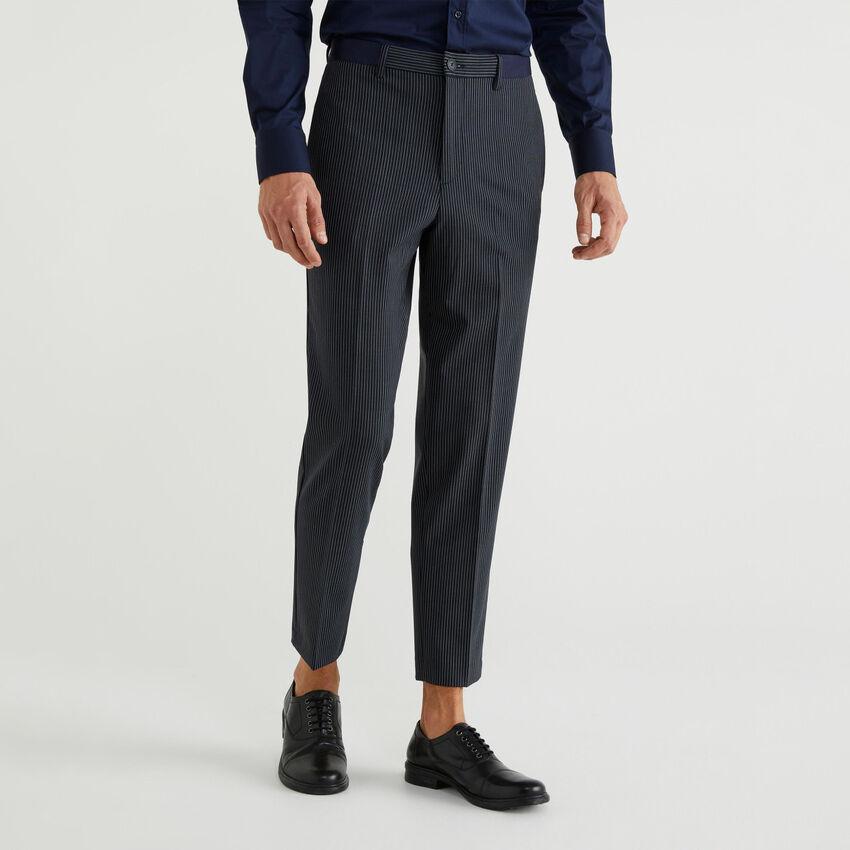 Pantalon en laine froide