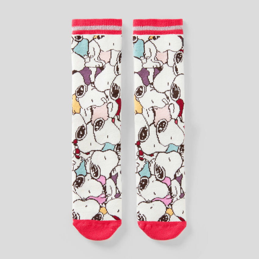 Chaussettes antidérapantes Snoopy
