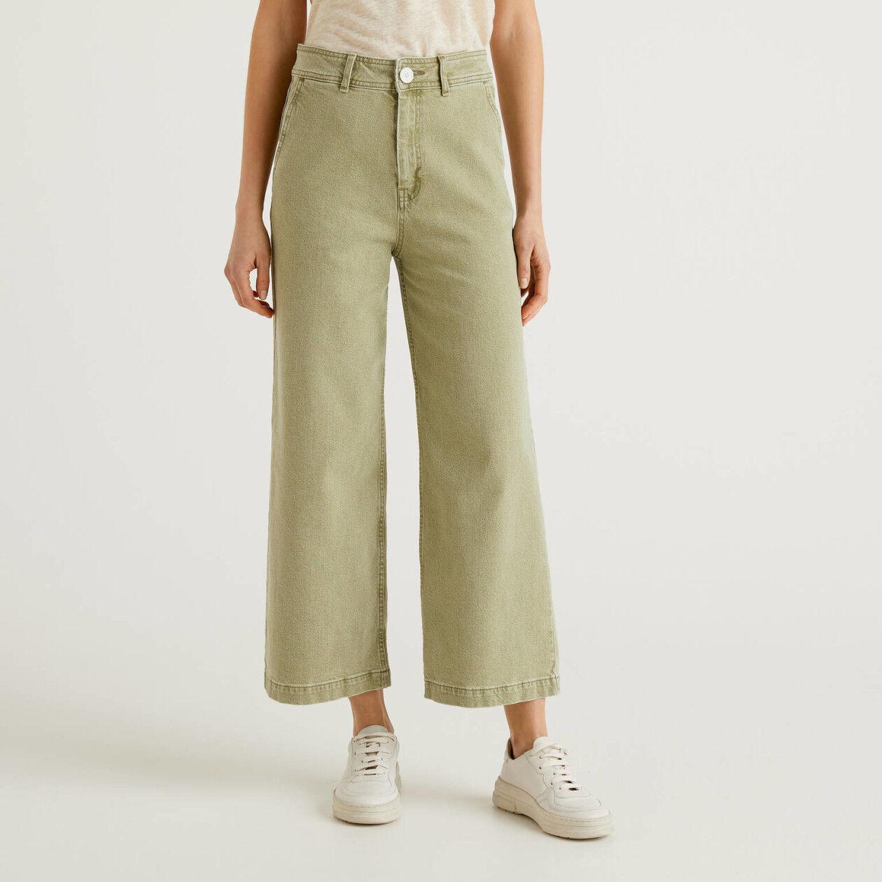 Jeans avec coupe large