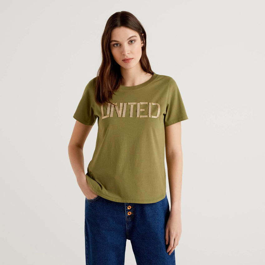 "T-shirt ""united"" 100% coton"