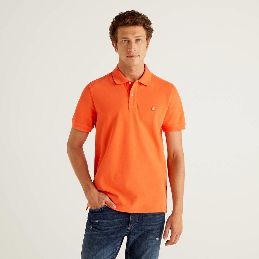 Polo orange coupe regular