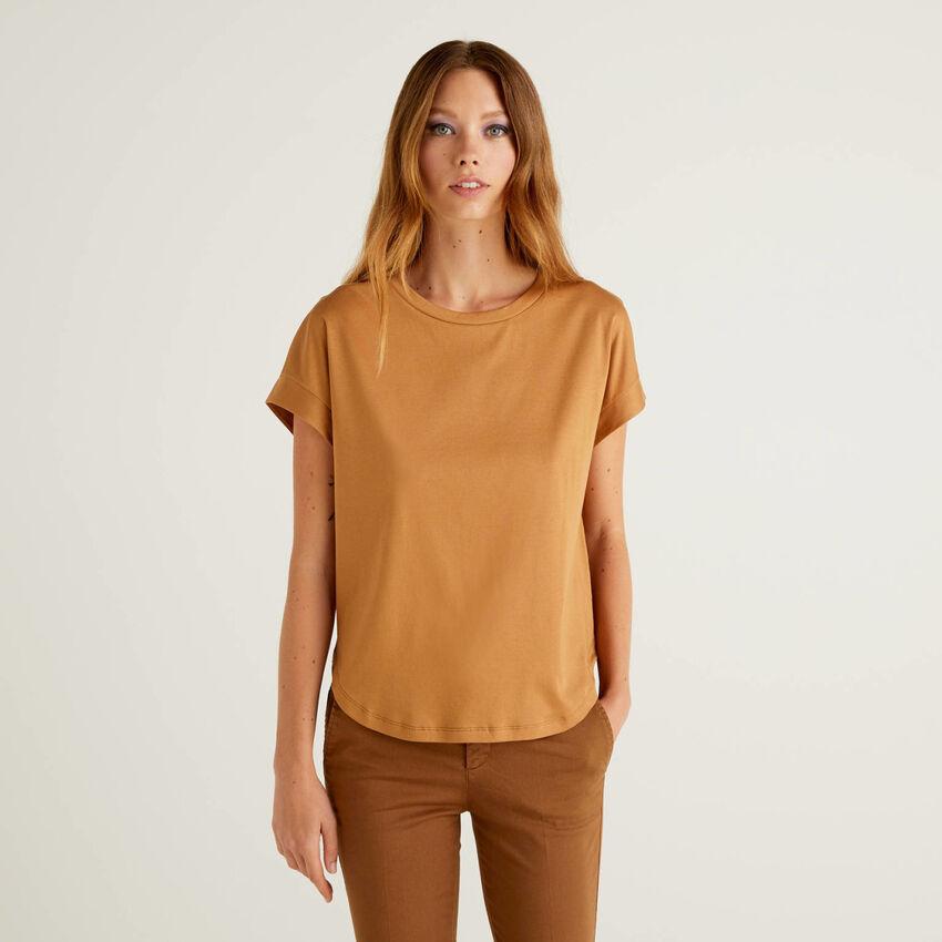 T-shirt 100% coton avec manches kimono