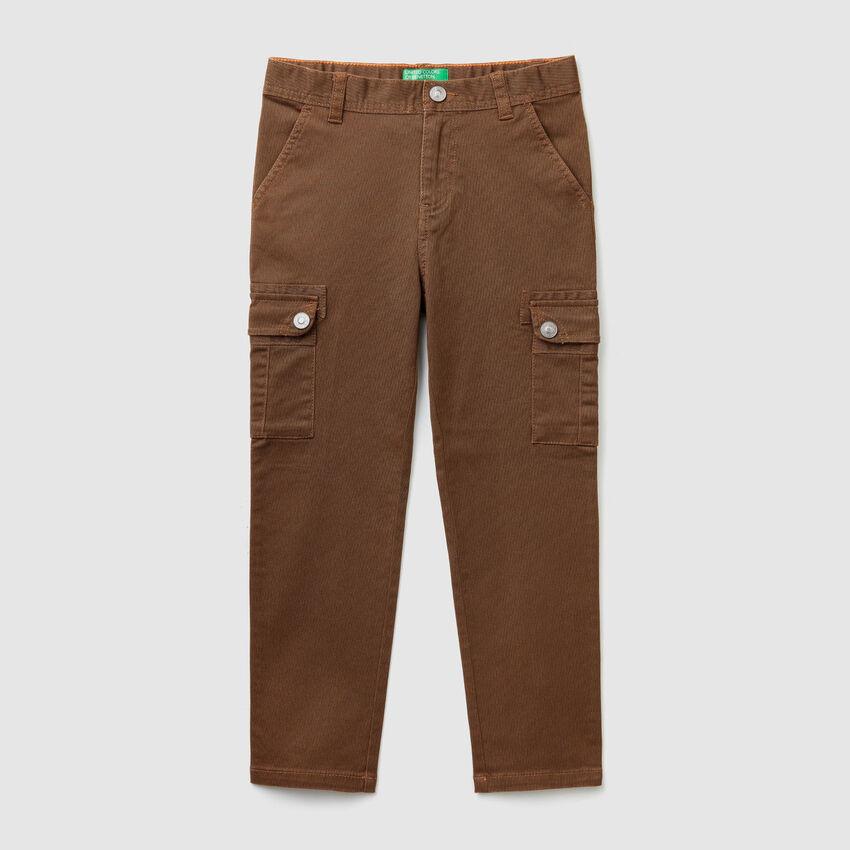 Pantalon cargo droit