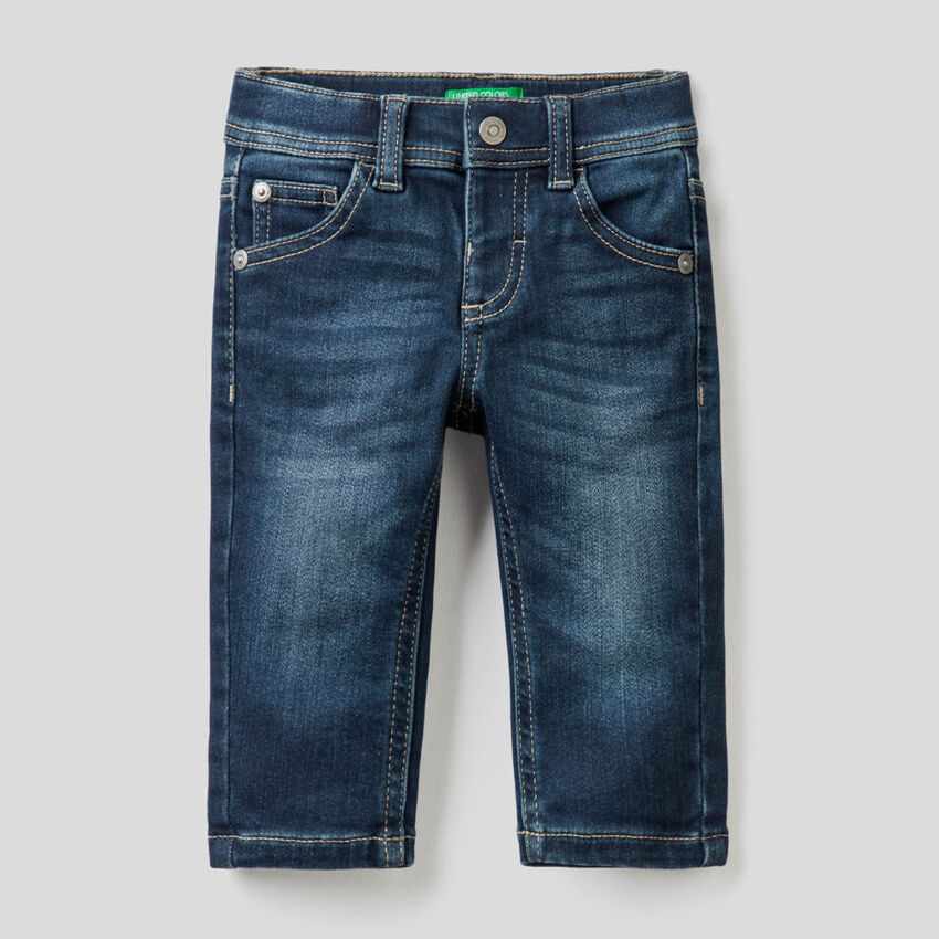 Jeans thermique coupe skinny