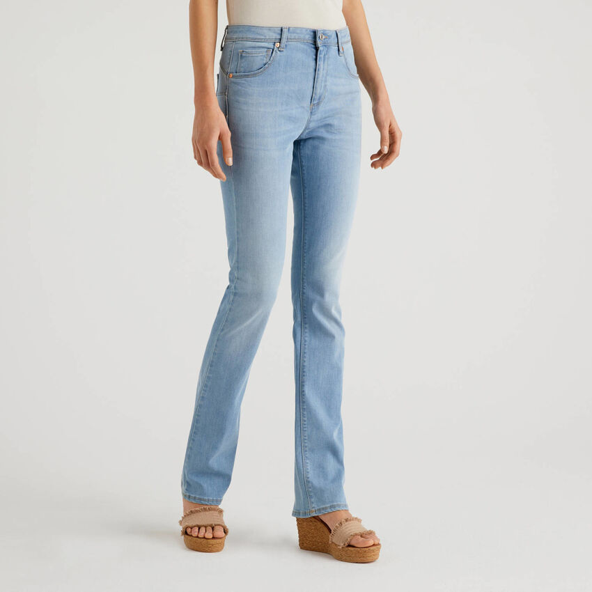 Jeans bootcut push-up