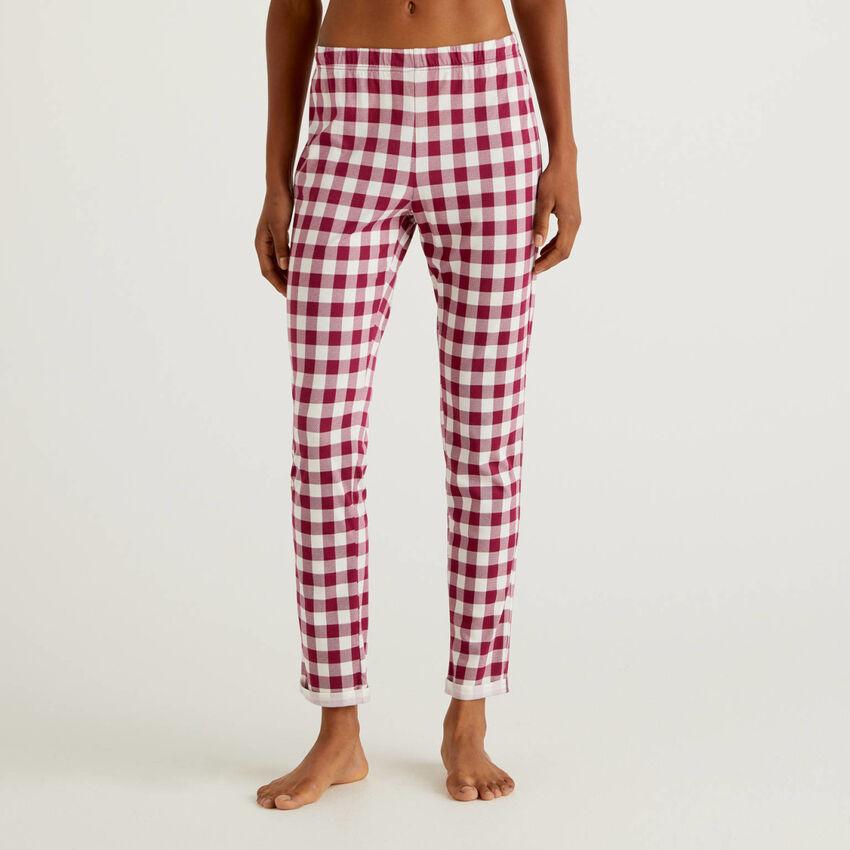 Pantalon à motif