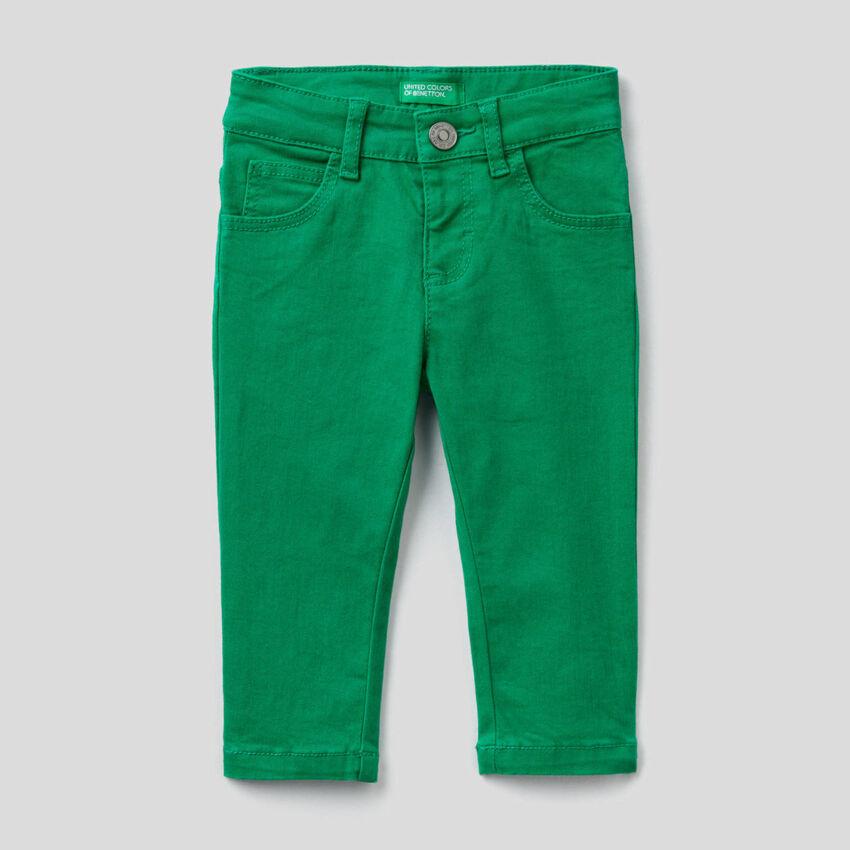 Pantalon coupe slim cinq poches
